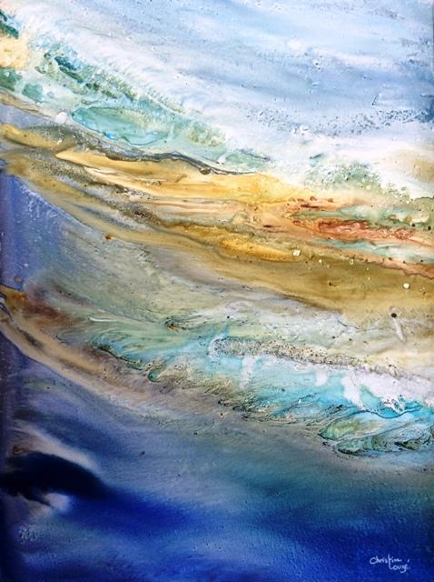 aquarelle sur paier yupo (lanavangard )