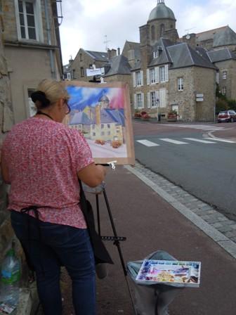 La journée des Peintres Coutances 2014