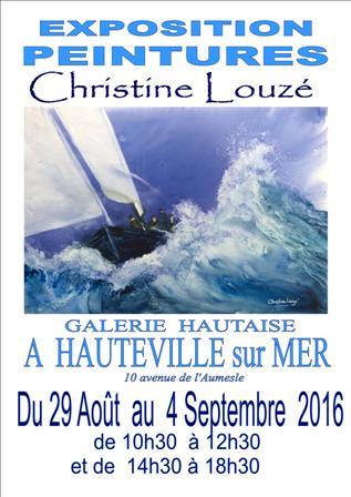 expo Hauteville affiche